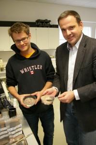 Heimisches Natursalz fürs Osterei dank Leobener Know-how