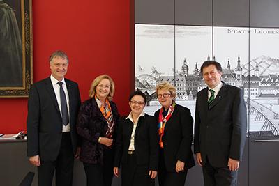 Finanzministerin Dr. Maria Fekter zu Besuch