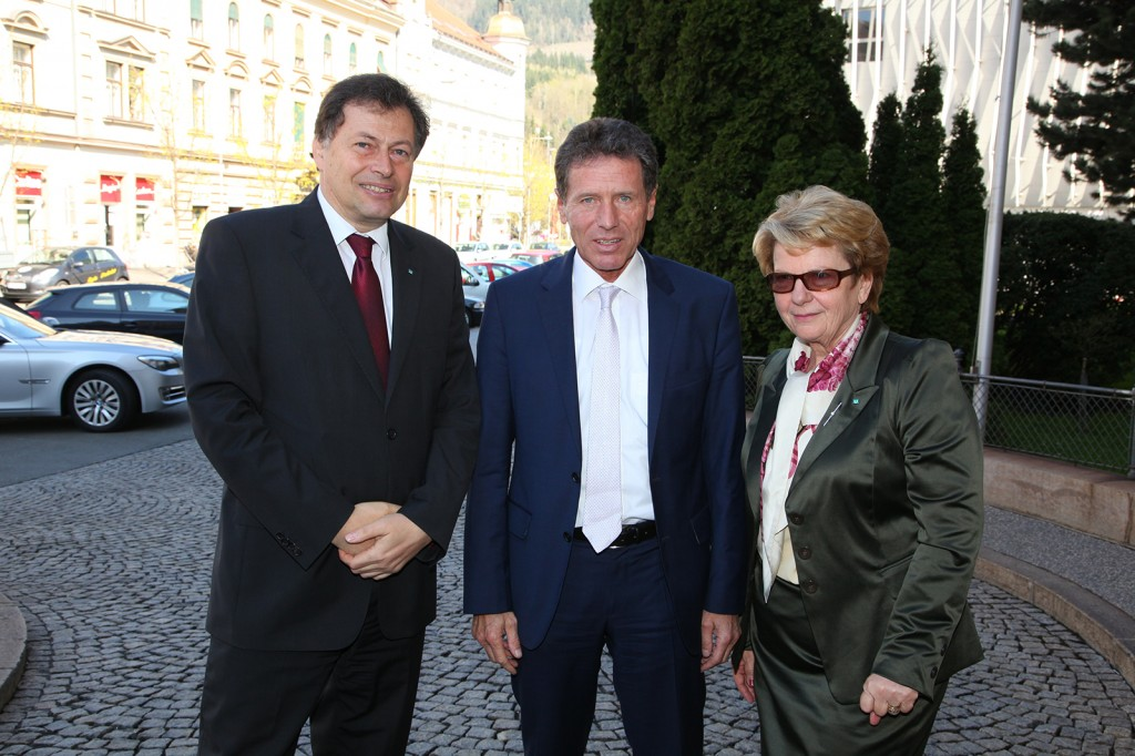 Bundesminister Karlheinz Töchterle besucht die Montanuni