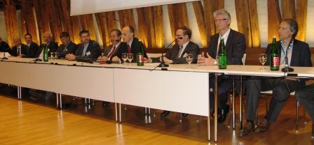 Panel-Diskussion im Kuppelsaal der TU Wien