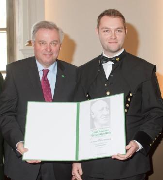 Josef Krainer-Förderungspreis für zwei Montanisten
