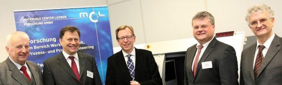 Materials Center Leoben (MCL) eröffnet neuen Forschungsbereich