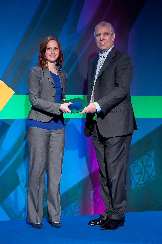 Internationaler Preis für junge Wissenschaftlerin